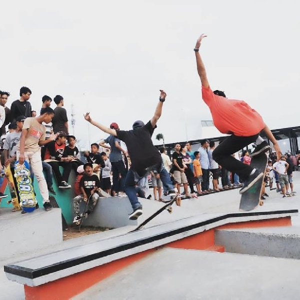 Skate Park Kalijodo, Favorit Baru Komunitas Skate Board
