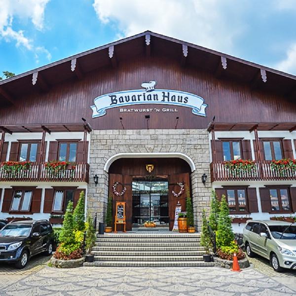 Bavarian Haus Resto and Gourmet, Restoran dengan Nuansa Jerman yang Kental di Puncak