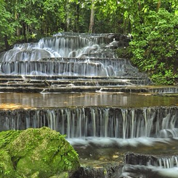 Air Terjun Semolon, Salah Satu Surga di Kalimantan Utara