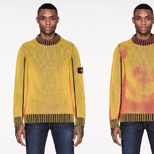 Sweater Ini Bisa Berubah Warna Ketika Diterpa Suhu Dingin