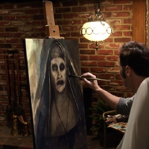 Bonnie Aarons Kembali Perankan Biarawati Iblis di Conjuring, The Nun