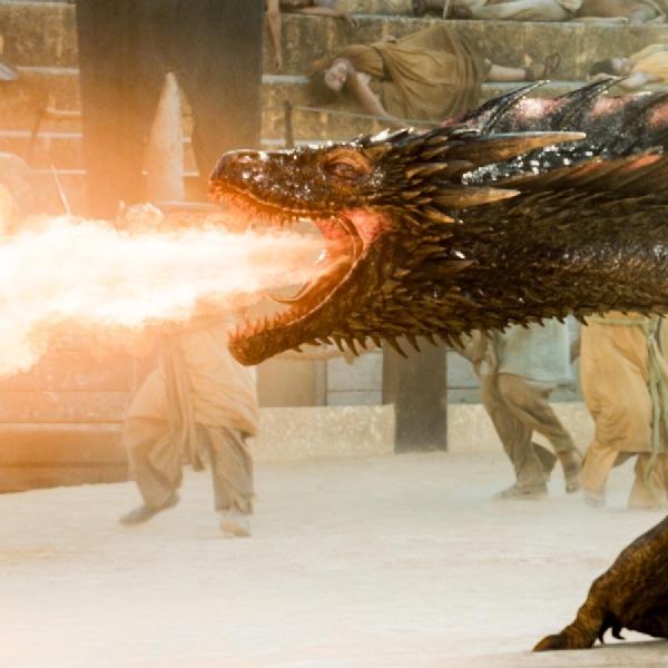 Game of Thrones Season 7, Naga Daenery Berubah Raksasa