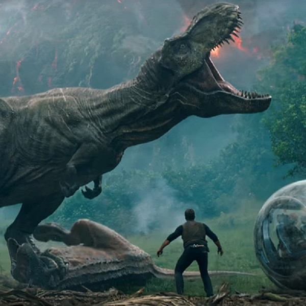 Serunya Trailer Perdana Jurassic World: Fallen Kingdom