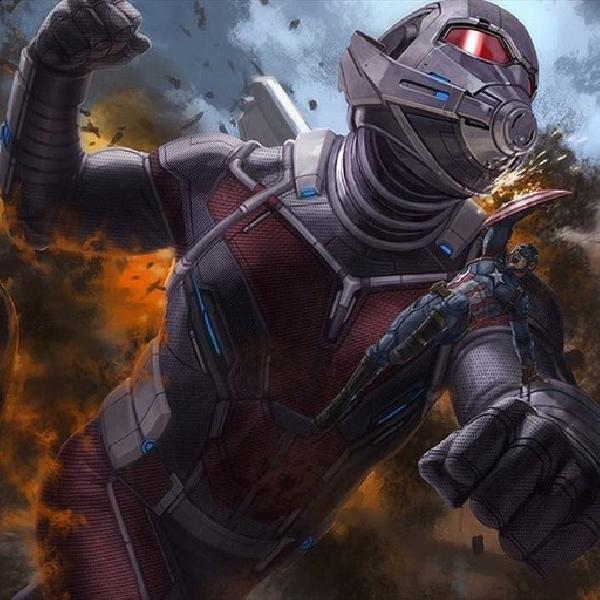 Karya Seni Ini Tampilkan Ant-Man Melawan Captain America
