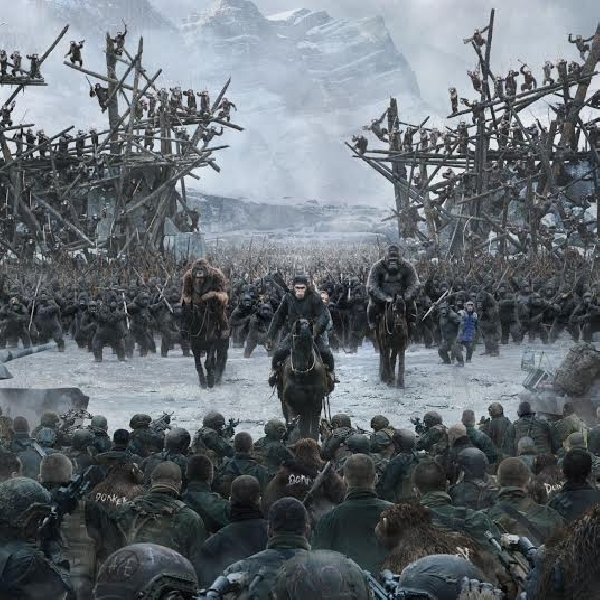Trailer Terakhir War for the Planet of the Apes Sebelum Premier