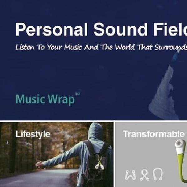 Music Wrap Hadirkan Headphone Yang Bisa Diletakkan Di Leher