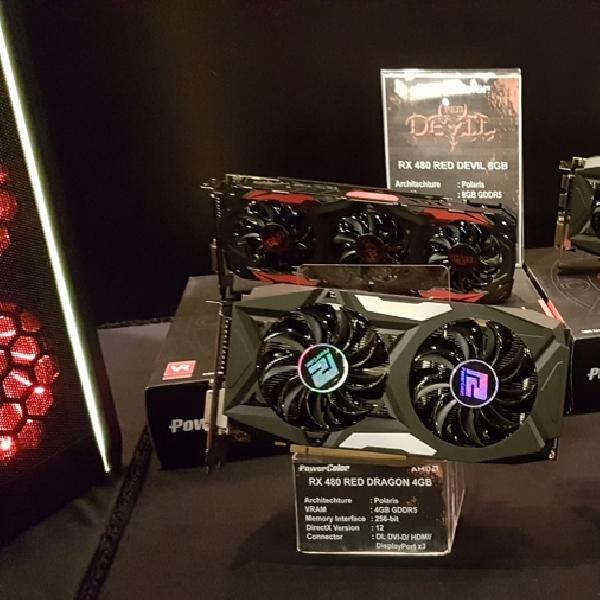 Spesifikasi dan Harga 4 Tipe Kartu Grafis AMD Radeon RX 500