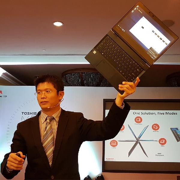 Toshiba Portege X20W Luncur, Unggulkan Fitur 2 in 1 Kaya Produktifitas
