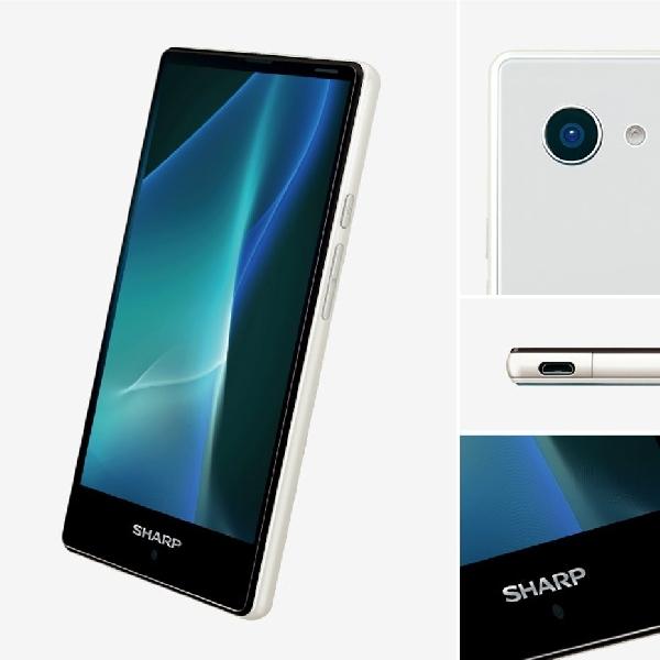 Berbodi Mini, Smartphone Baru Sharp Ini Tampil Gahar