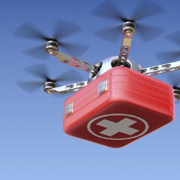 Drone Ini Dapat Mengantar Peralatan Medis Di Rwanda