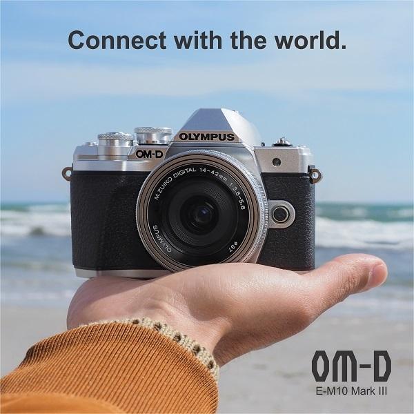 Tawarkan Desain Ringkas, Olympus OMD E-M10 Mark III Mendarat di Indonesia