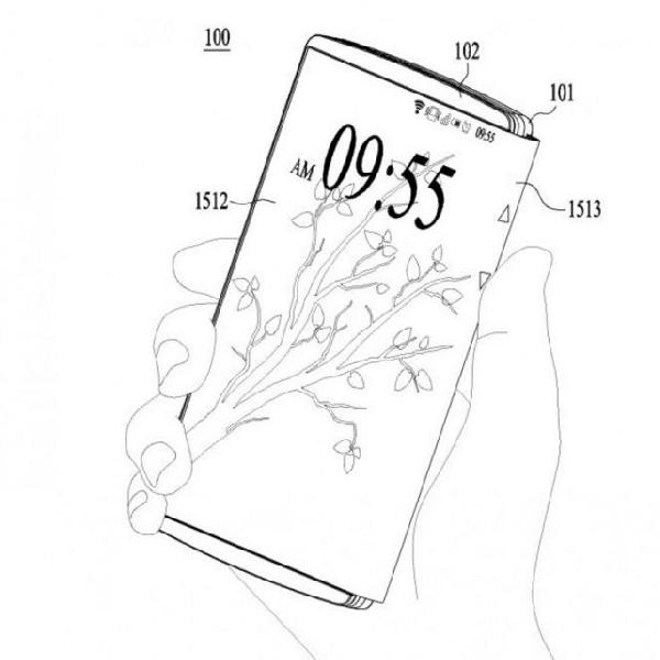 Akhirnya, Seperti Inilah Penampakan Smartphone Lipat LG