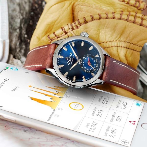 Bergaya Analog, Ini Rupa Smartwatch Terbaru Alpina