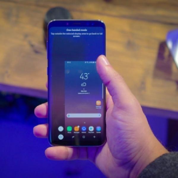 Cara Mengaktifkan One Handed Mode di Galaxy S7 dan Galaxy S8
