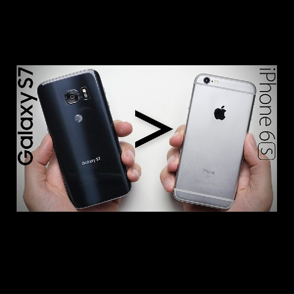 Drop Test: iPhone 6S VS Samsung Galaxy S7, Kuat Mana?