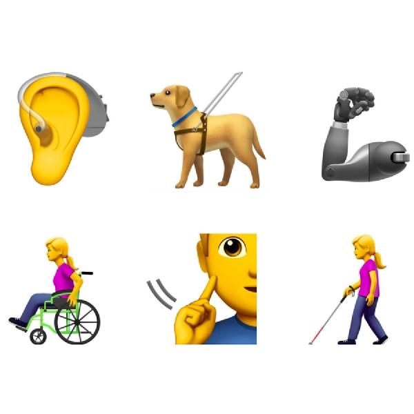 Apple Siap Hadirkan Emoji Bagi Kaum Disabilitas