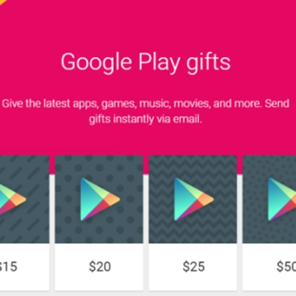 Google Play Gifts Kini Bisa Dikirim via Email