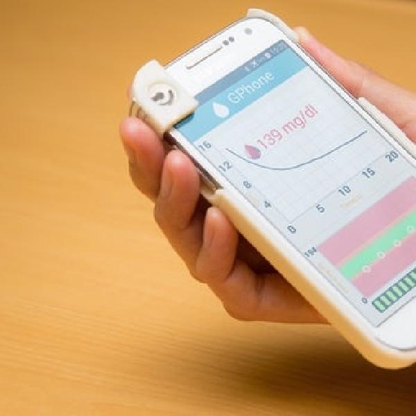 GPhone Smartphone Case Pendeteksi Glukosa Darah