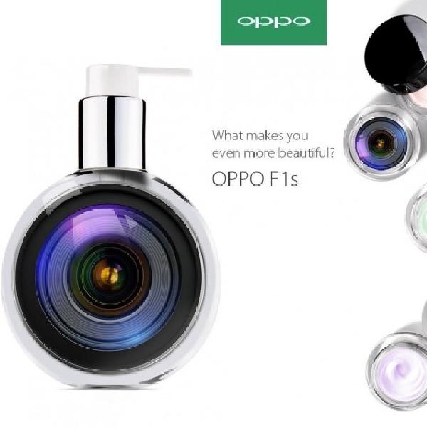 Goda Fans, Oppo Bocorkan Poster Kamera Selfie 16MP F1S