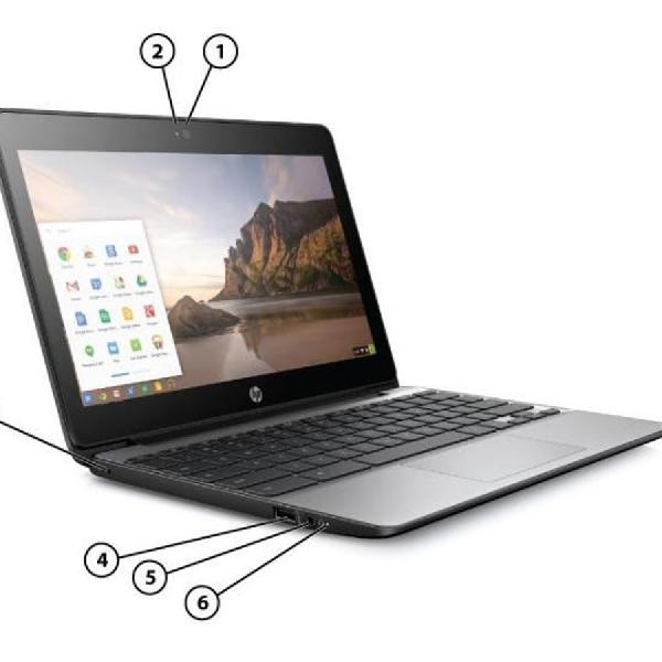 Usung Intel Braswell, Ini Penampakan HP Chromebook 11 G5