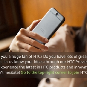 HTC Luncurkan Program Baru, HTC Preview