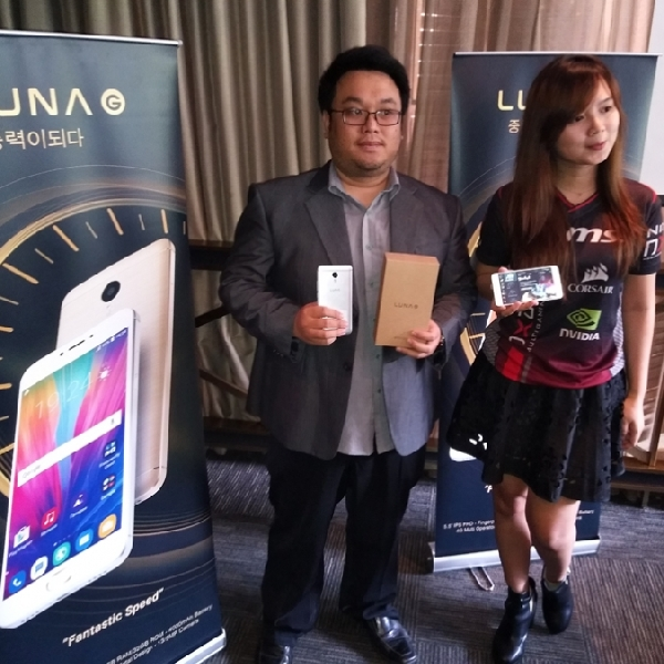 Lebih Kaya Fitur, Ini Phablet Terbaru Luna Smartphone