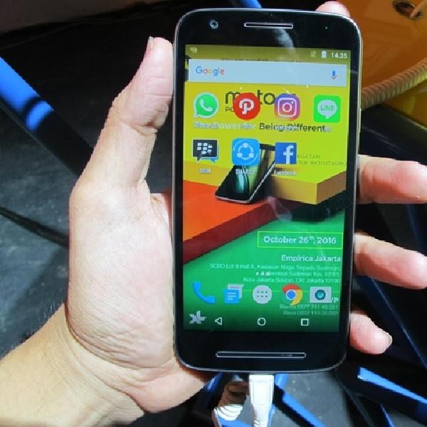 Ini Smartphone Pertama Motorola yang Diproduksi di Indonesia