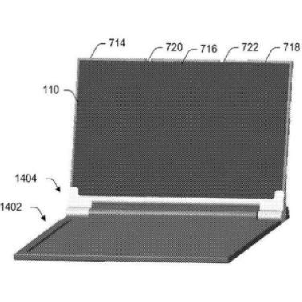 Ini Wujud Smartphone Layar Lipat Versi Microsoft
