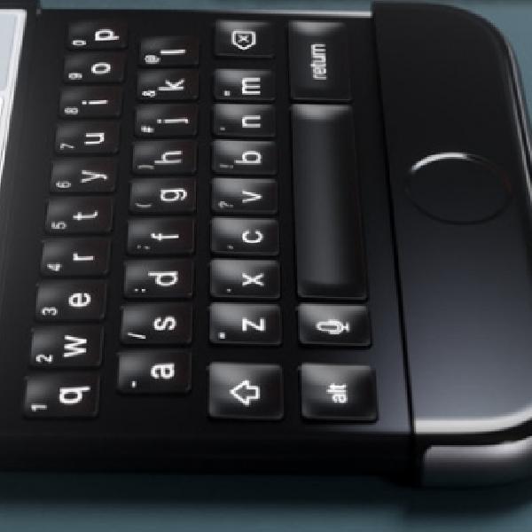 Inilah Konsep iPhone 7 yang Tiru Blackberry Priv