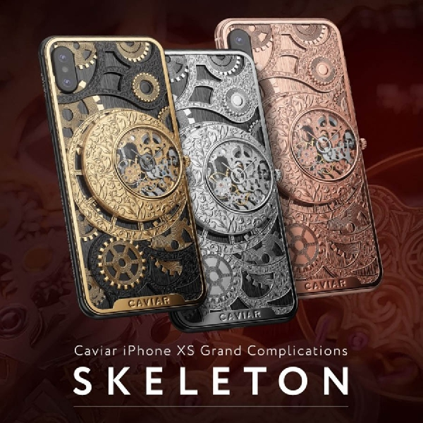 Ini Dia Desain Baru iPhone XS dan XS Max Buatan Caviar