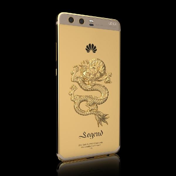 Dibalut Emas 24K, Huawei P10 Ini Terlihat Lebih Mewah