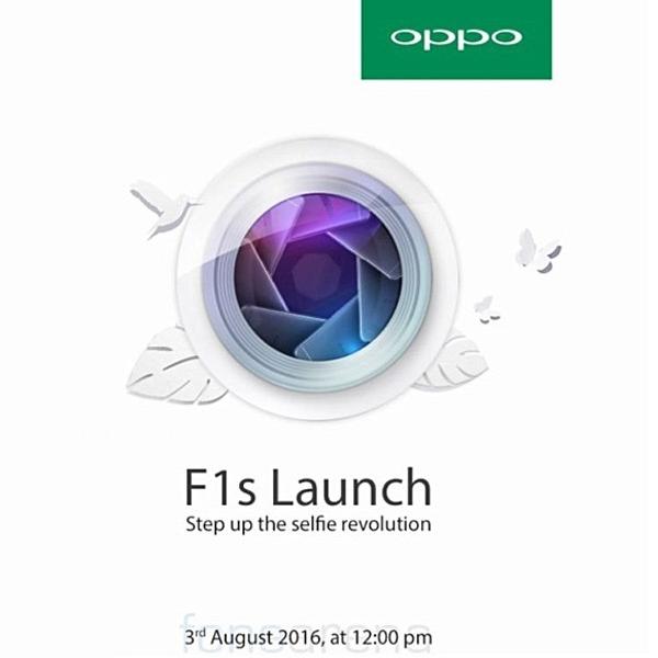 Sebar Undangan, Oppo F1s Melenggang 3 Agustus