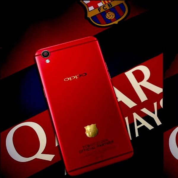 Oppo R9 Edisi FC Barcelona Melenggang 2 Juni