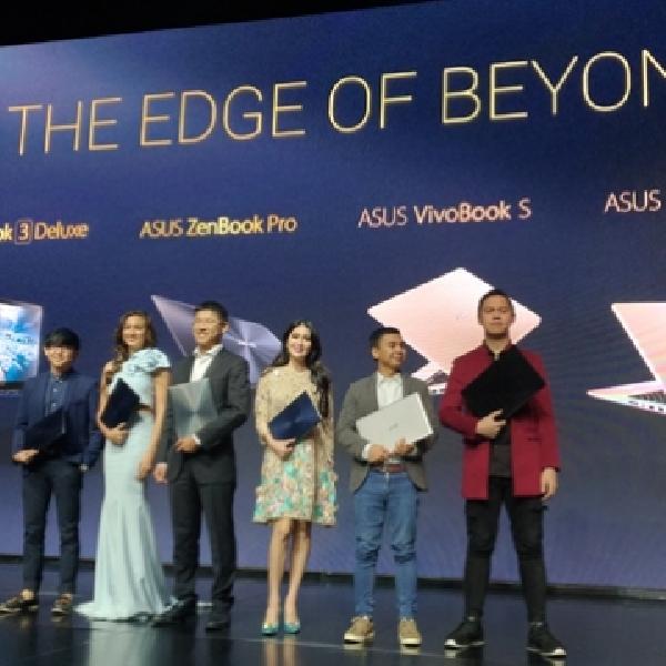 Ini 6 Notebook Terbaru Asus di Ajang The Edge of Beyond