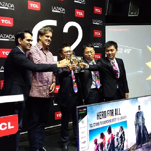 TCL C2 UHD Smart TV Resmi Mendarat di Indonesia