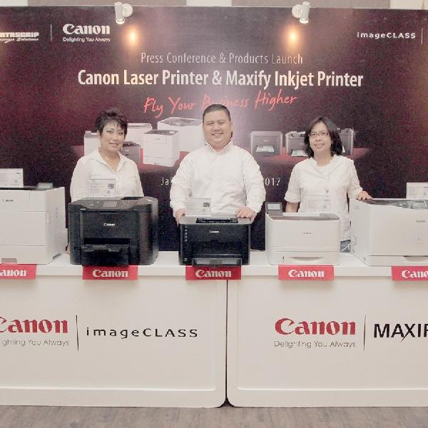 Canon Hadirkan Tiga Printer MAXIFY Terbaru