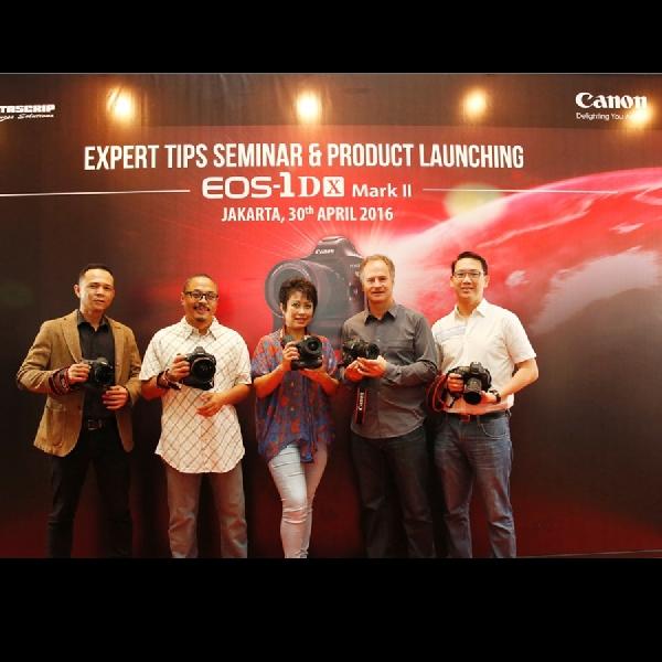 Canon EOS 1D X Mark II, Kamera Tangguh Nan Powerfull Resmi Hadir Di Indonesia