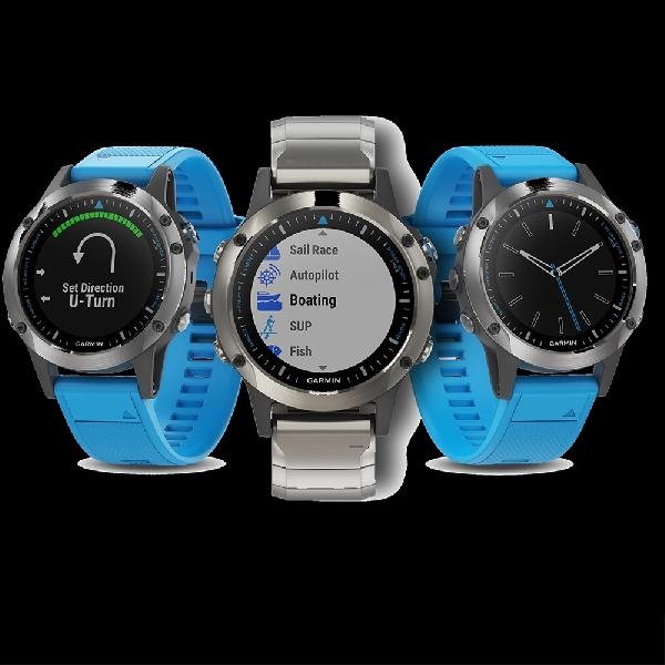 Smartwatch Garmin Ini Buat Pelayaran Jadi Aman