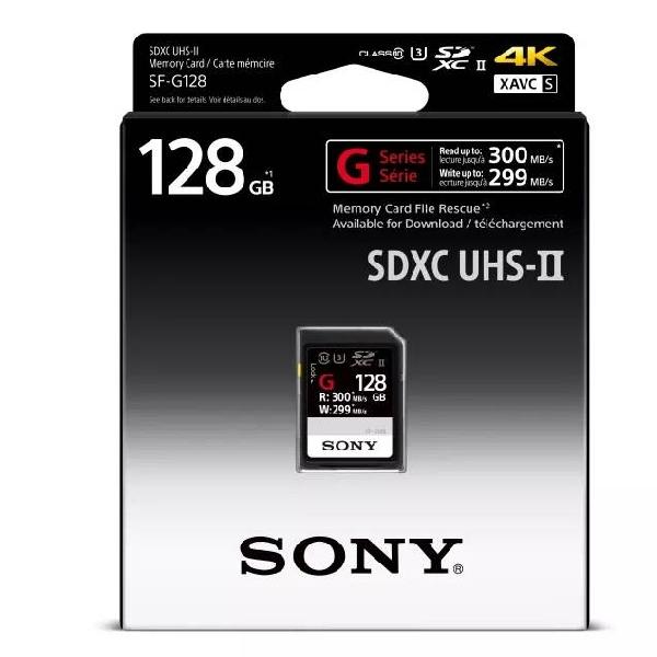 SF-G SDXC UHS-II, Kartu SD Sony Tahan Air Berkecepatan 300MB Per-Detik