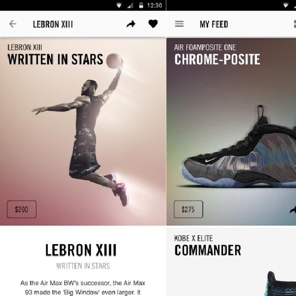 Rambah Industri Mobile, Nike Hadirkan Aplikasi Sneakers Untuk Smartphone