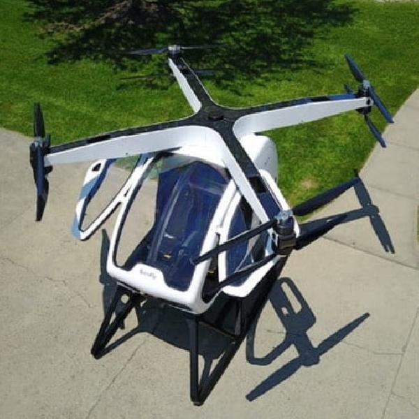 SureFly, Drone dengan 2 Penumpang, Siap Mengantarkan Anda ke Kantor