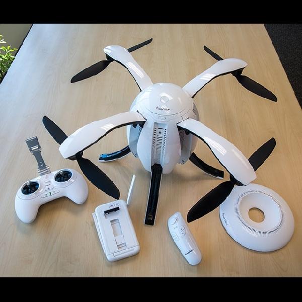 Wow, Drone Mirip Telur Ini Bisa Rekam Video 4K