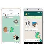 WhatsApp Kembangkan Fitur Search Sticker