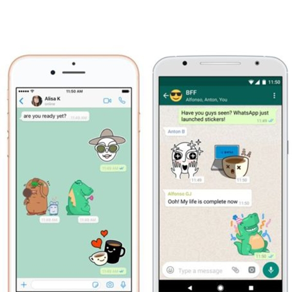 WhatsApp Kembangkan Fitur Search Sticker