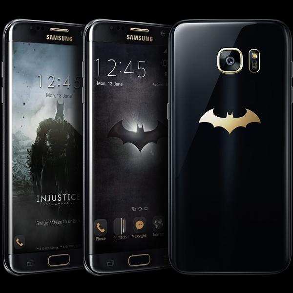Begini Wujud Galaxy S7 Edge Kenakan Jubah Batman