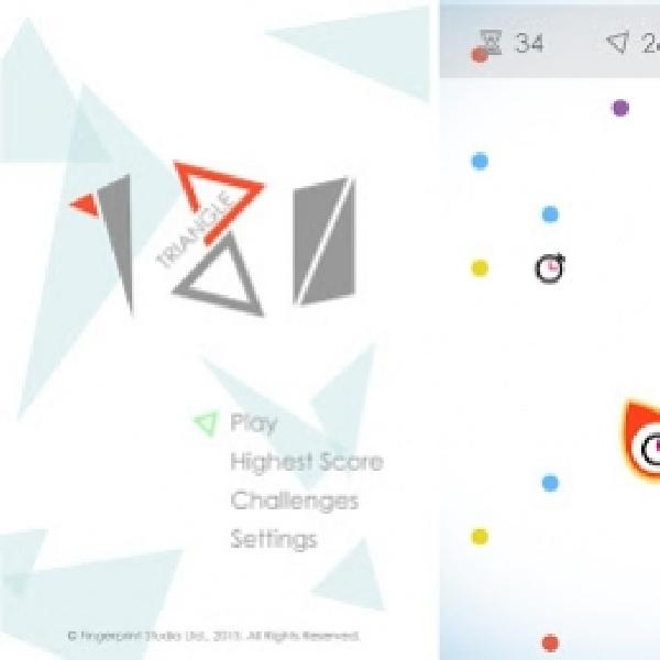 Triangle 180, Satu Lagi Game Puzzle Seru di Android dan iOS
