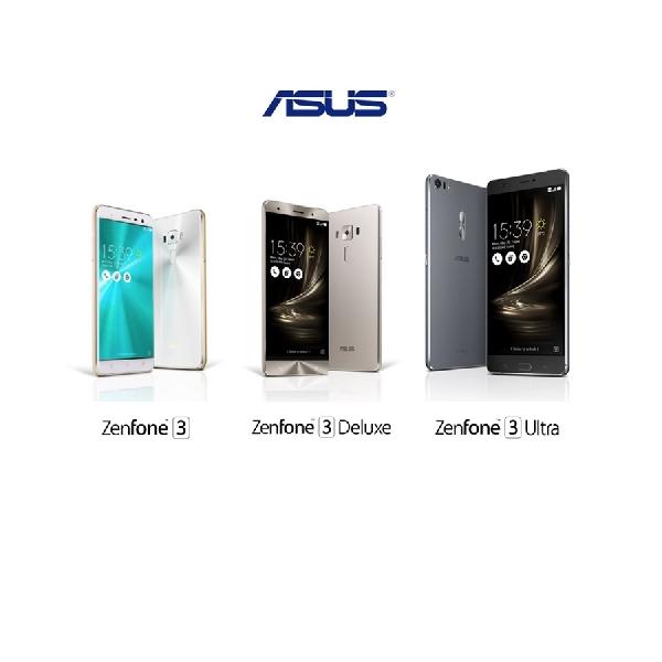 Ini Dia, Wujud Tiga ZenFone Baru Asus