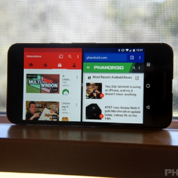 Cara Menjalankan Multi Window Mode di Android