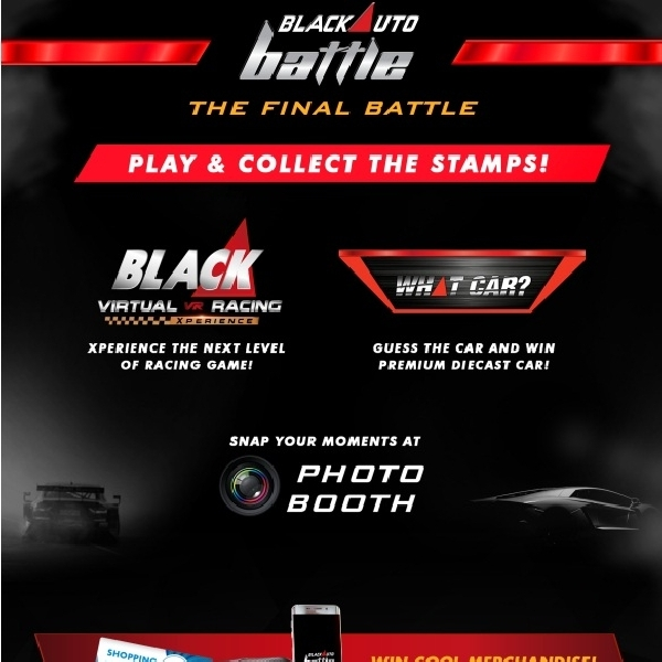 Yuk Jajal Games Black Virtual Racing Xperience di Final BlackAuto Battle 2016