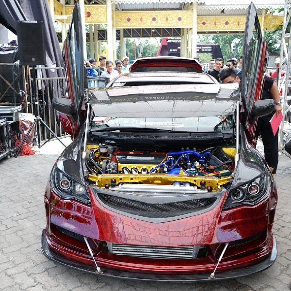 The Arjuna Raih Gelar The Champ Pada BlackAuto Battle 2017 Pekanbaru